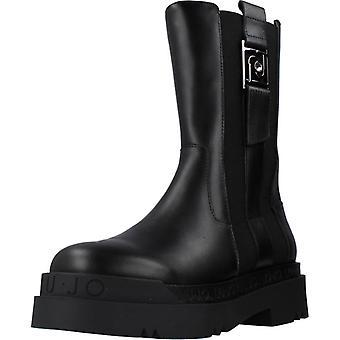 Liu-jo Bottines Boot Calf Couleur Noire