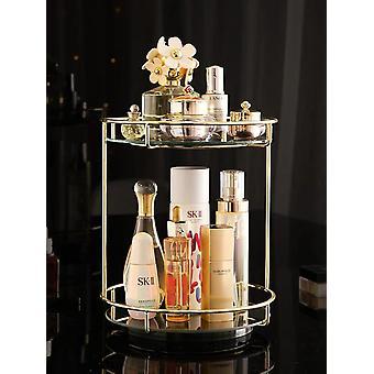 Nordic Luxury Vanity Tray Jewelry Classificazione Vassoio di stoccaggio Scatola di stoccaggio cosmetica di grande capacità