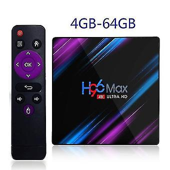 Audio converters and roid 10.0 T 95 smart tv box h3 quad-core media player support 2.4G wifi 4k 4gb and 64gb