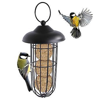 Outdoor Hanging Plastic Metal Bird Feeder Garden Automatic Bird Feeder