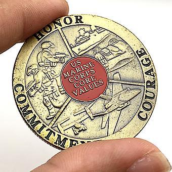 Glory Sniper kolikot kullattu pronssi purkki kolikko keräilykolikot maalattu käsityön muistokoli mitali