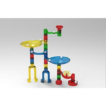 38pcs Space Pipe Ball Spielzeug Große Partikel Spur Montage Bausteine Kinder Bildung