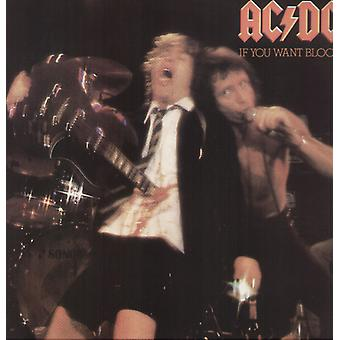 AC/DC - jos olet Want Blood You'Ve sai It [vinyyli] USA tuoda