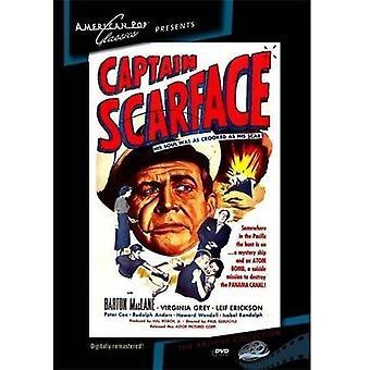 Importación de los E.e.u.u. Capitán Scarface [DVD]