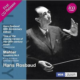 G. Mahler - Mahler: Symphony No. 5 [CD] USA import