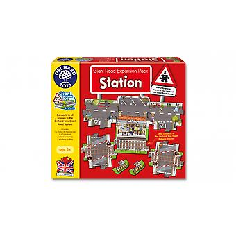 Orchard Toys Station Giant Road Puzzle Expansion Pack