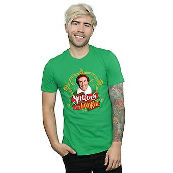 Elf Men's Buddy Smiling T-Shirt