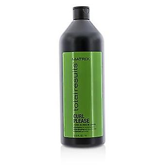 Matrix total Results Curl por favor jojoba Oil shampoo (para nutrir cachos)-1000ml/33.8 oz