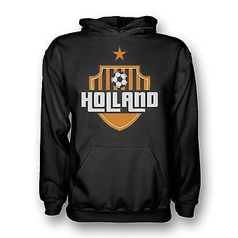 Holland Country Logo Hoody (black) - Kids