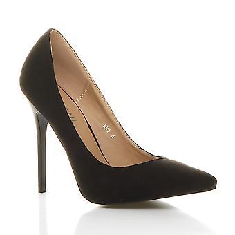 Ajvani kvinners høy hæl pekte kontrast retten smart partiet arbeidet sko pumper