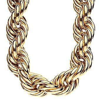 Collana di corda pesante DMC stile hip-hop - 30mm oro