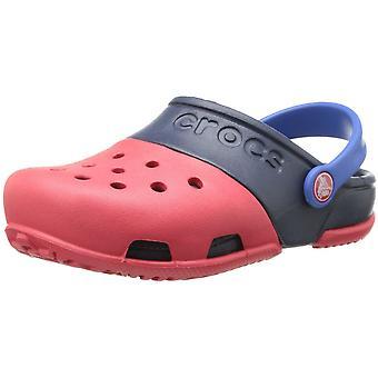 Crocs Boys Electro II bekväma ventilerade Croslite täppa