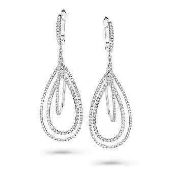 Orphelia Silver 925 Drop ZO-7218 zirkonium Earring