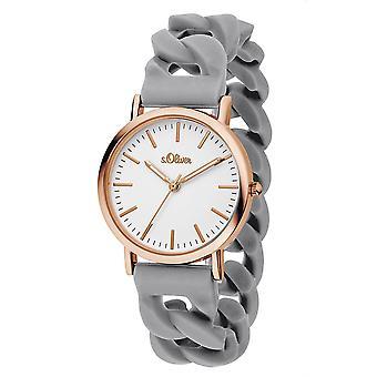 s.Oliver Dameur wrist watch silikone SO-3257-PQ