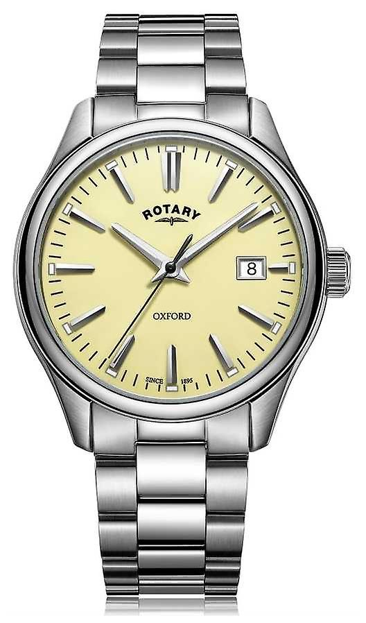 Rotary Mens Oxford Bracelet Stainless Steel GB05092/32 Watch