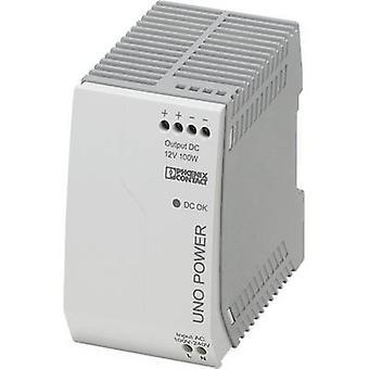Phoenix Kontakt UNO-PS/1AC/12DC/100W Schienennetzteil (DIN) 12 V DC 8.3 A 100 W 1 x