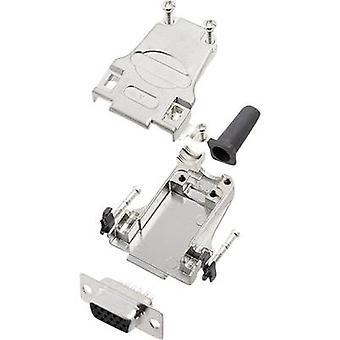 encitech DTZF09-HDS15-K 6355-0063-11 D-SUB opvangbakje set 180 ° aantal pinnen: 15 soldeer emmer 1 set