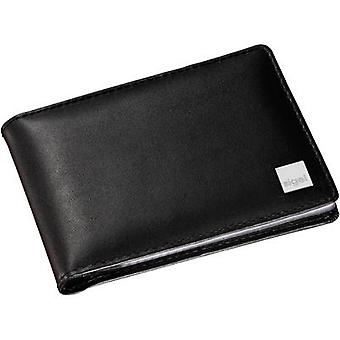 Sigel VZ201 Torino Business card folder 40 cards (W x H x D) 110 x 75 x 16 mm Black Cowhide