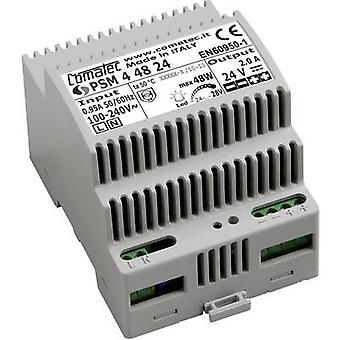 Comatec PSM4/48.24 kisko asennettu PSU (DIN) 24 V DC 2 A 48 W