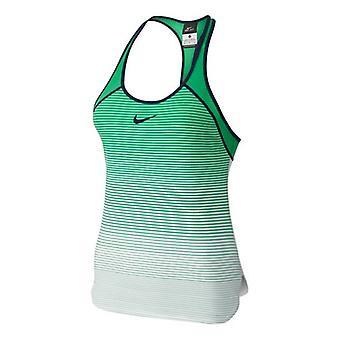Nike Азаренко премьер шлема дышать танк женщин зеленый 728721-342