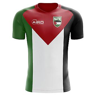 2020-2021 Palestine Home Concept Football Shirt - Adulte Manches longues