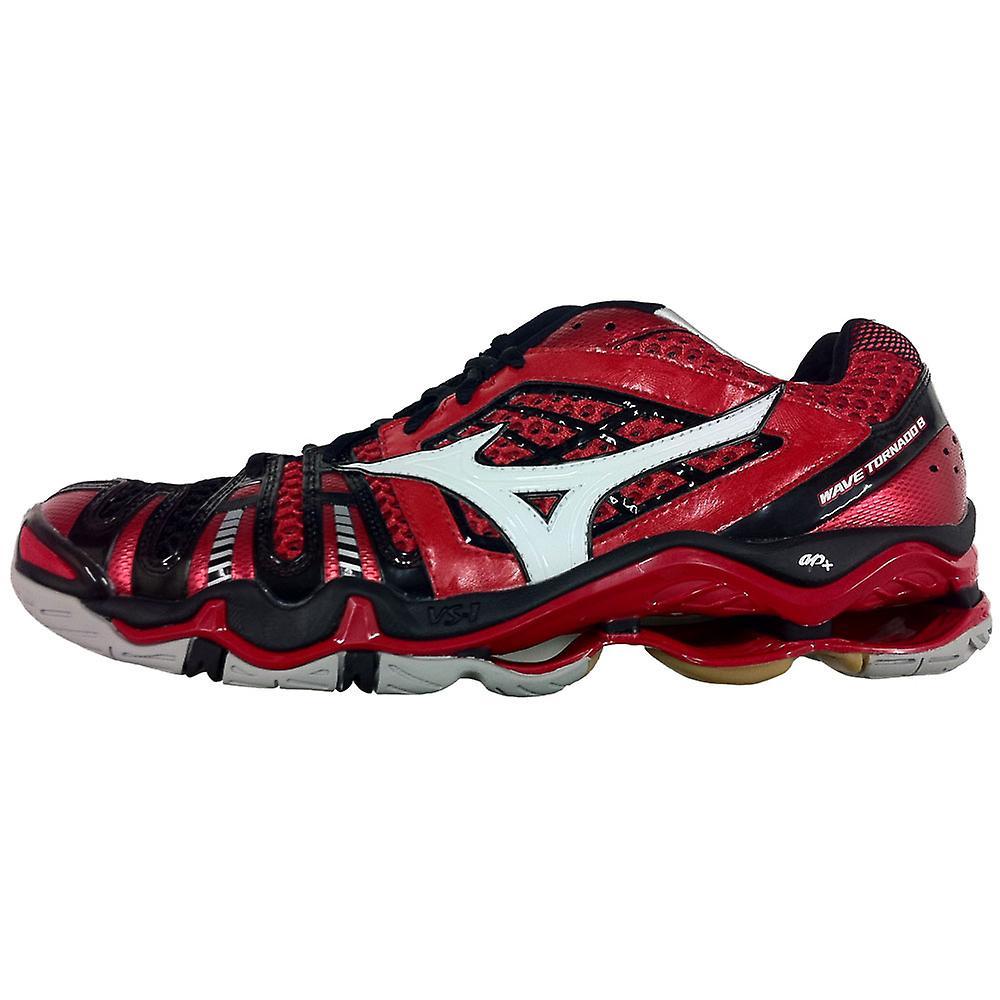 MIZUNO Wave Tornado 8 Indoor Shoe [red/white/black]
