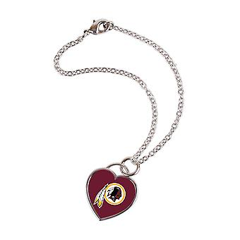 Wincraft dames 3D hart armband - NFL Washington Redskins