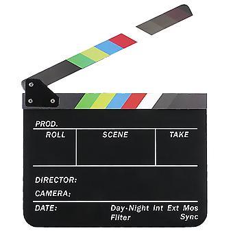 TRIXES elokuvan johtajat klaffin – värillinen laatat