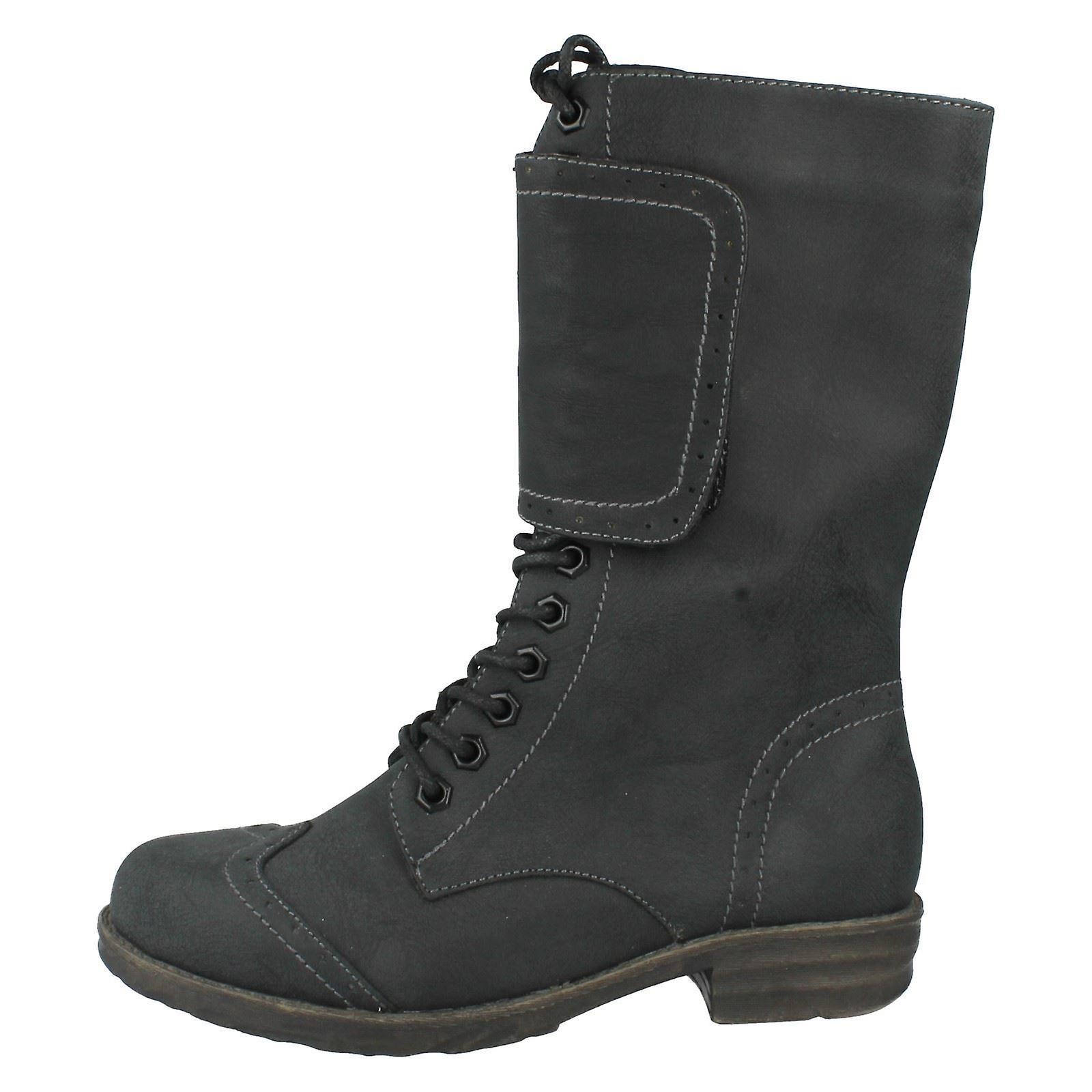Ladies Coco Mid Calf Boots Style- L8616