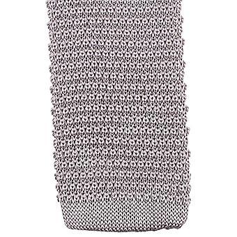 Knightsbridge kaulavaatteita neulottu solmio - hopea