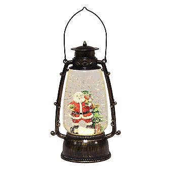 Straits LED Water Globe Lantern, Santa's Sack