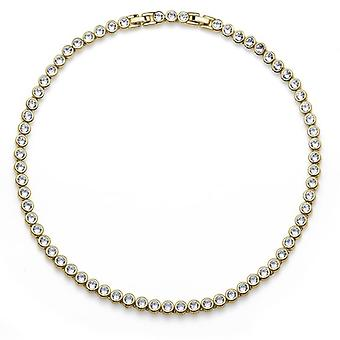 Oliver Weber Collier Tennis Gold Crystal