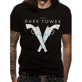 Dark Tower - Pistols (Unisex)   T-Shirt