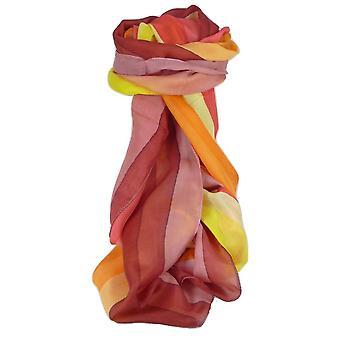Maulbeere klassischen langen Seidenschal Lata Regenbogenpalette von Pashmina & Seide