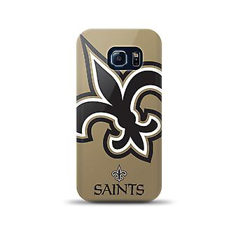 5 Pack -Mizco Sports NFL Oversized Snapback TPU Case for Samsung Galaxy S6 Edge (New Orleans Saints)