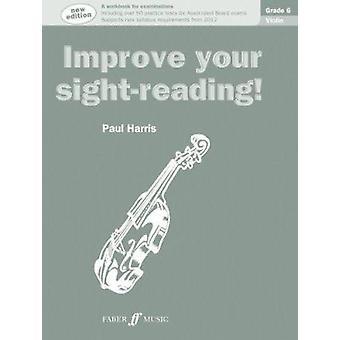 Viool Grade 6 - vioolsolo (nieuwe editie) door Paul Harris - 9780571536