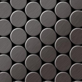 Metal mosaic Titanium ALLOY Dome-Ti-SB
