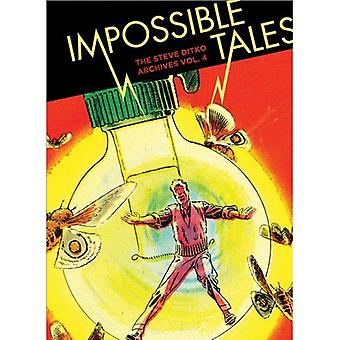 Niet onmogelijk Tales: De Steve Ditko archieven Vol.4 (Steve Ditko Archives (Fantagraphics))