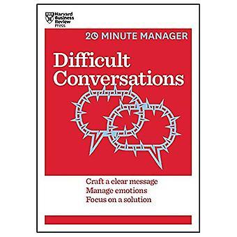 Conversations difficiles (série de 20 minutes Manager de HBR)