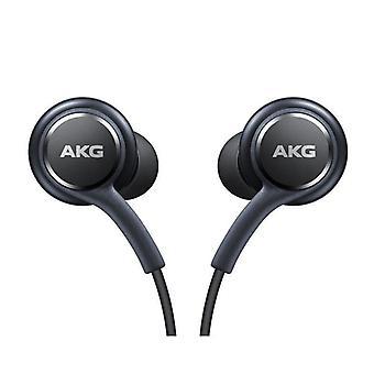Official Samsung Galaxy S10e / S10 / S10+ Headphones / Earphones - Tuned by AKG / Harman Kardon - Black (EO-IG955BSEGWW) - Bulk Packed