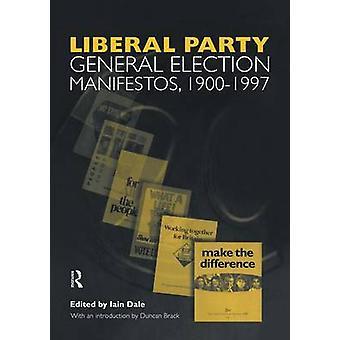 المجلد الثالث. العام للحزب الليبرالي الانتخابات بيانات 19001997 بايان & دايل