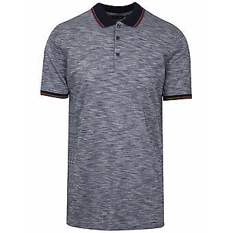Antony Morato Sport Navy Pattern Polo Shirt
