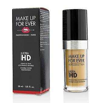 Make Up For Ever Ultra Hd Invisible Cover Foundation - # Y405 (golden Honey) - 30ml/1.01oz