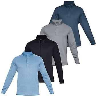 Under Armour Mens Crestable Storm Velo Snap Golf Sweater