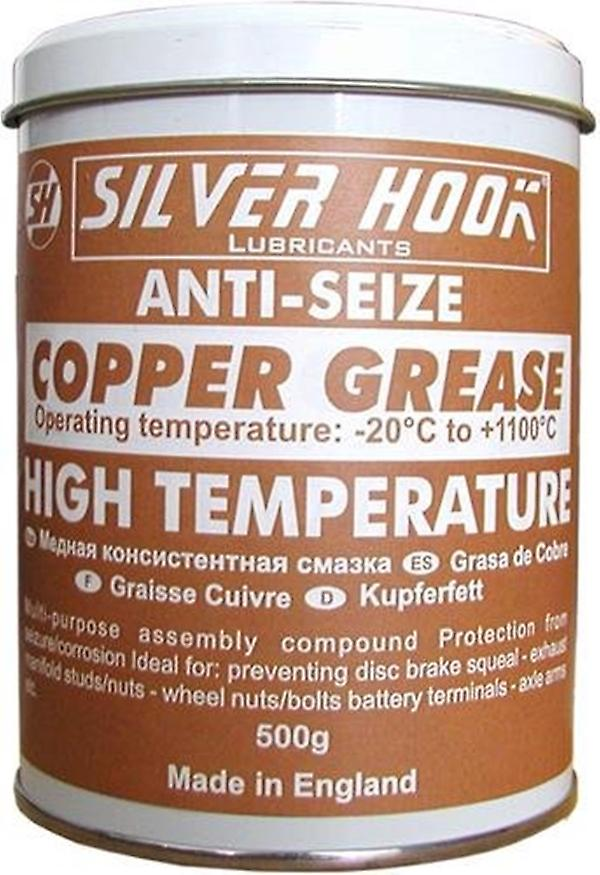 Silverhook Copper Grease Car Repair and Maintenance for High Temperature Anti Seize in 500 g Tin