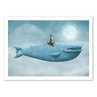 Art-Poster - Whale Rider - Terry Fan