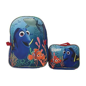 Backpack - Disney - Finding Dory w/Lunch Bag New 056390