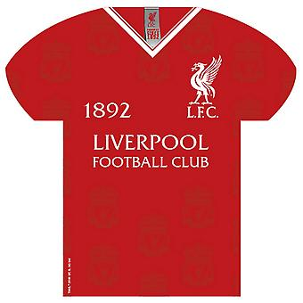 Liverpool FC Shirt Shaped Sign