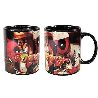 Mug - Marvel - Deadpool Heat Change Cup New cmgc-mu-dpeat