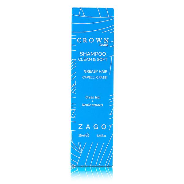Clean and Soft Shampoo for Greasy, Lank and Fine Hair Crown Care